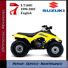 Thumbnail Suzuki LT160E 1990-2005 Workshop Service Repair Manual