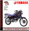 Thumbnail Yamaha XTZ660 1991 Workshop Service Repair Manual