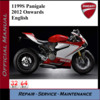 Thumbnail Ducati 1199S Panigale 2012Onwards Workshop Service Manual
