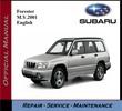 Subaru Forester M.Y. 2001 Service Repair Workshop Manual