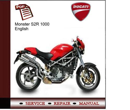 ducati monster s2r 1000 service manual ducati monster s2r