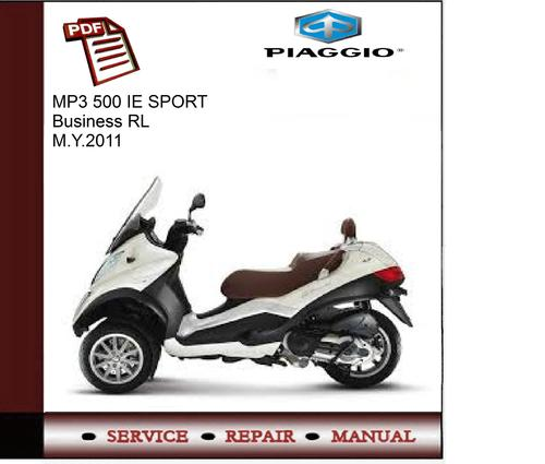 piaggio mp3 500 ie sport business rl m service. Black Bedroom Furniture Sets. Home Design Ideas