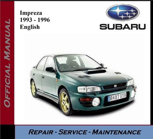 Product picture Subaru Impreza 1993 - 1996 Service Repair Manual